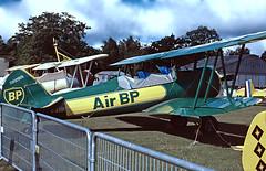 F-AZGR   Boeing Stearman N2S-3 Kaydet [75-2650] (Amicale Jean Baptiste Salis) La Ferte Alais~F @ 16/06/1997 (raybarber2) Tags: 752650 biplane cn752650 fazgr flickr frenchcivil johnbabbagecollection lffq oldtimer planebase preserved single slide