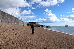 Sally Port Beach (Jainbow) Tags: oldportsmouth portsmouth beach sallyport hotwalls sea solent jainbow