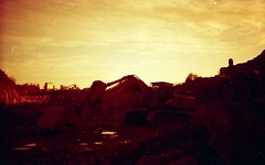 (acelobb) Tags: redscale diy analog acelobb argentique analogue analogphotography analogfeatures analogic abandonné abandon film france filmlover fujifilm filmphotography filmsnotdead filmlovers filmisourlife filmisnotdead filmornothing 35mm 35 pho pellicule photography photographer photographie paysage red retro vintage v550 urbex rurbex apocalypse redscalefilm homemadefilm industrial ishootfilm istillshootfilm compact canon cloud cloudscape clouds sky