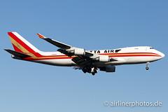N402KZ (Airlinerphotos.de) Tags: b747400 ist kalittaair