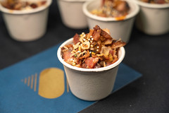 "Steadfast – Ender OktayurenNueske's Bacon Poke – bacon sticky rice, pulled bacon, fermented chili and bacon hot sauce, bacon Kewpie • <a style=""font-size:0.8em;"" href=""http://www.flickr.com/photos/124225217@N03/33687605338/"" target=""_blank"">View on Flickr</a>"