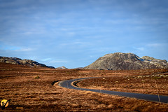 The road to the mountains (Norwegian Outdoors) Tags: norway norge mountains mountain road autumn colors extreme nature highland landscape landscapephotography nikond850 nikon sky