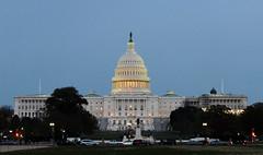 US Capitol at dusk - Washington DC (Monceau) Tags: uscapitol capitol dusk dome light washingtondc