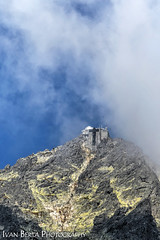 Lomnický Peak (Ivan Berta) Tags: slovakia europe building architecture view tatras blue sky cloud clouds nature holiday summer slovensko slovak republic