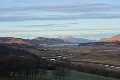 River Spey (Donald Beaton) Tags: uk scotland highlands laggan glentruim trees birch landscape view centre river spey mountains mountain hills munros creag meagaidh scenery winter strath glen sony a7 24105 fe