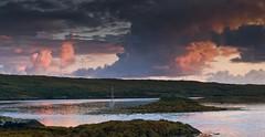 Connemara Ireland (the year of the cat) Tags: ireland beach sunset connemara boat dusk