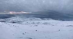 View from the climb up Pen Y Fan (imleonbrown) Tags: penyfan brecon breconbeacons wales national park mountains snow