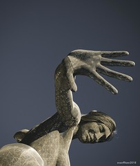 Bliss Dance_edit 2 (evanffitzer) Tags: art sculpture statue lasvegas vegas fujix100s fujifilmx100s nik fingers hand dance bliss publicart outdoors kinetic evanfitzer evanffitzer photography photographer lightroom