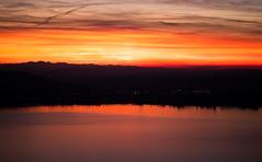 Afterglow (Hegglin Dani) Tags: zug zugersee switzerland sunsunset afterglow clouds wolken sonne abendrot abendstimmung lake