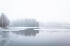Kuokkalankoski (Markus Heinonen Photography) Tags: lempäälä kuokkalankoski joki river suomi finland pirkanmaa waterscape jää ice sumu fog talvi winter luonto nature maisema landscape scenery