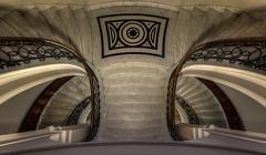 spread your wings (Blacklight Fotografie) Tags: staircase stairwell stairs treppenhaus treppe treppen hdr looking down cottenstairs travel reise reisen city stadt mamor stufen steps geländer