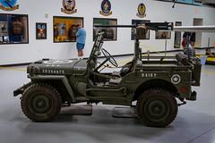 Willys Jeep (Serendigity) Tags: 390thmemorialmuseum arizona b17 boeing pimaairspacemuseum tucson usa usaaf unitedstates wwii aircraft aviation bomber hangar indoors museum unitedstatesofamerica