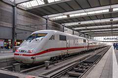 401 001-3 DB Fernverkehr München Hbf 31.01.19 (Paul David Smith (Widnes Road)) Tags: 4010013 db fernverkehr münchen hbf 310119 ice1 ice