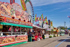 2019 Florida State Fair (The Vintage Lens) Tags: state fair rides midway food color ferris wheel