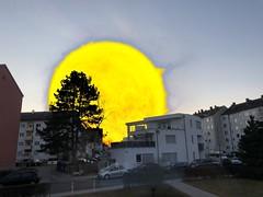 Sonnenaufgang (roland.kirchenbauer) Tags: sonne ingolstadt februar2019 sonnenaufgang