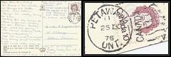 CFB Petawawa Postal History - 25 September 1976 - PETAWAWA, Ontario (duplex cancel / postmark) to Barrie, Ontario (Treasures from the Past) Tags: cfbpetawawa petawawa ontario canada opsdanaca duplex cancel postmark postalhistory