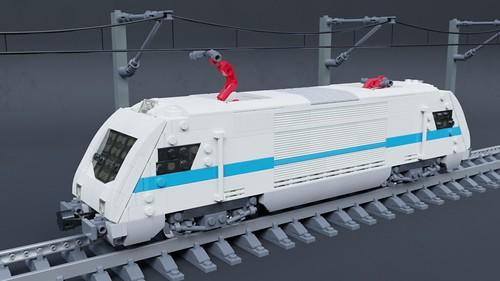 Zf-2 electric locomotive