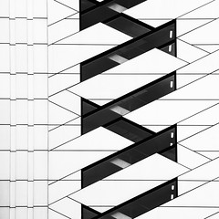 zig-zag (Joseph Pearson Images) Tags: building architecture abstract london blackandwhite bw mono 5broadgate makearchitects square