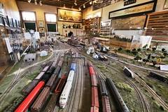 Model Railroad (Laurence's Pictures) Tags: medota illinois railroad museum train station amtrak tourism things see cbq burlington chicago quincy northern agent office