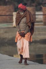 0937 Pushkar Old Man II (Hrvoje Simich - gaZZda) Tags: outdoors people man old walking portrait india indian travel asia nikon nikond750 sigma150500563 gazzda hrvojesimich