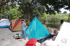IMG_7304 (諾雅爾菲) Tags: taiwan camping 台灣 墾丁 露營 香蕉灣原始林露營區 熊帳 coleman 印地安帳