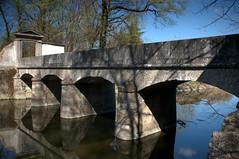 Stone bridge XIX century - Ponte in pietra sec XIX (by emmeci) Tags: pontedipietra stonebridge monza marzo xixsecolo1805 ridisegnodiunponteprecedentedatatoxvisecolo parcodimonza luigicanonica