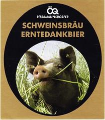Germany - Hermannsdorfer (Glonn) (cigpack.at) Tags: germany deutschland hermannsdorfer glonn hermannsdorferschweinsbräu schweinsbräu erntedankbier bier beer brauerei brewery label etikett bierflasche bieretikett flaschenetikett