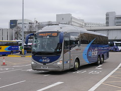 West Coast Motors Scania K410 EB6 Irizar i6 YS16LMV 11610 operating the Citylink Air service to Edinburgh departing Buchanan Bus Station, Glasgow, on 8 April 2019. 2018. (Robin Dickson 1) Tags: busesglasgow ys16lmv craigofcampbeltown westcoastmotors citylink scaniak410eb6 irizari6
