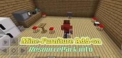 Mine-Furniture-Add-on-520x245 (ResourcePack.info) Tags: mine furniture addon install guide changelogs behavior pack