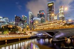 Lights of Singapore (funtor) Tags: singapore night light colors city urban