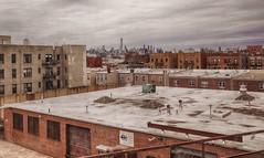 View over Queens (PAJ880) Tags: manhattan skyline queens amtrak train urban cityscape boroughs nyc new york city