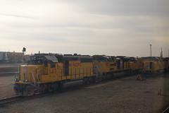 Roseville Lineup (imartin92) Tags: roseville california unionpacific railroad railway freight train emd sd59mx sd60m sd70ace gp402 gp151 locomotive