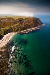 More Head, Aberdeenshire, Scotland (Kieran Campbell) Tags: scotland aberdeenshire aerial bay flying sea paragliding gardenstown coast cliff gamrie alba
