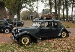 Oldtimer in Rolde - Drenthe (joeke pieters) Tags: 1440279 panasonicdmcfz150 nswandeling drentscheaa rolde drenthe nederland netherlands holland oldtimer auto automobiel car tractionavant