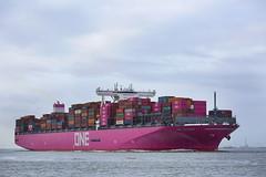 ONE COLUMBA (angelo vlassenrood) Tags: ship vessel nederland netherlands photo shoot shot photoshot picture westerschelde boot schip canon angelo onecolumba cargo container terneuzen
