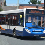 39704 NK58 AFU Stagecoach North East