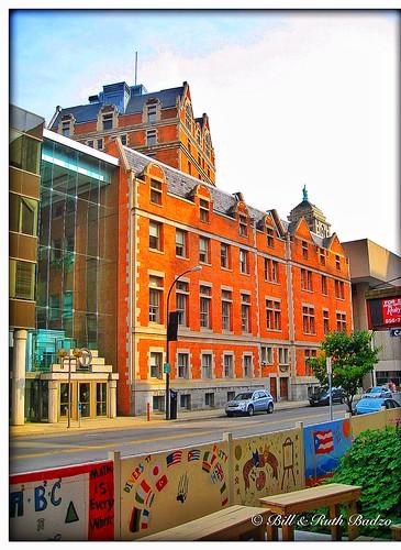 Buffalo New York - YMCA Branch - - 1902 -- Buffalo Niagara Convention Center  -  Architecture  Flemish