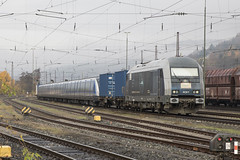 D PCW 7 Gemünden am Main 08-11-2018 (peters452002) Tags: peters452002 eisenbahn railways railway railroad railroads rail railwaystation trains train trein treinen twop transportation spoor spoorwegen duitsland diesel diesellok ferrovia germany jalalspagestransportationalbum lokomotive lokomotief locomotive gemündenammain clickcamera bahn bahnhof bayern hercules