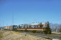 CB&Q SD7 401 (Chuck Zeiler48Q) Tags: cbq sd7 401 burlington railroad emd locomotive lincoln train dickrumbolz chz