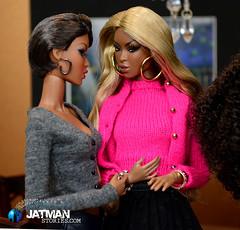 JATMAN - Sister Williams E04 - 04 (JATMANStories) Tags: 16scale 16 fashionroyalty diorama dolls doll dollcollecting dollhouse drama adele actionfigure hottoys stories story black urban