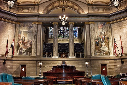 State Capitol of Missouri ~ Senate Chambers ~ Attraction