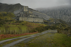 Imposing Castell Trefor (PentlandPirate of the North) Tags: castelltrefor granite mountain quarry northwales backtothegrey nobananastoday aztecspalace
