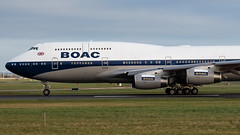 G-BYGC (Noel Williams ✈) Tags: gbygc ba airport avgeek airline boeing b744 boac british airways dublin dub eidw aircraft airlines