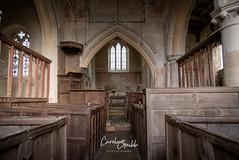 Church interior (Caroline Grubb Photography) Tags: inglesham st john baptist pray prayer worship religion church 1000 cotswolds winter interior