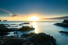 Over the horizon (Rico the noob) Tags: 2018 rock d850 landscape sunset nature water outdoor stones clouds longexposure published beach ocean sun horizon coast dof sky tenerife rocks teneriffa 20mmf18 20mm sea