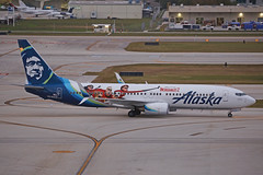 N519AS FLL 28.12.2018 (Benjamin Schudel) Tags: n519as boeing 737800 alaska airlines the incredibles fll fort lauderdale florida hollywood usa