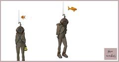 Sub- Flea Market (clarissastring) Tags: flea market secondlife carnival sub fish