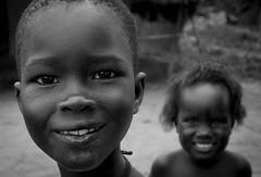 Sisters II (gunnisal) Tags: africa portraits gunnisal kids children girls sisters blackandwhite monochrome bw malawi