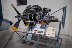 Pratt & Whitney R-2800 Engine Cutaway (Serendigity) Tags: arizona cutaway pimaairspacemuseum prattwhitney r2800 tucson usa unitedstates wwii aircraft aviation engine hangar indoors museum radial unitedstatesofamerica