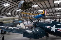 Pima Hangar 3 Aircraft Displays (Serendigity) Tags: arizona pimaairspacemuseum tucson usa unitedstates aircraft aviation hangar indoors museum unitedstatesofamerica